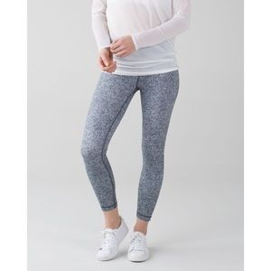 Lululemon High Times 7/8 Legging in Rio Mist